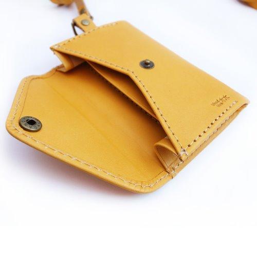 MUMU木木識別證,手工皮革(小麥色)