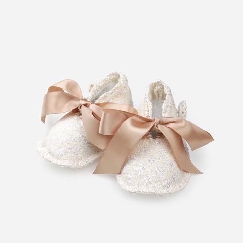 小女鞋鉤織素材包 / Ribbon Bow Flats