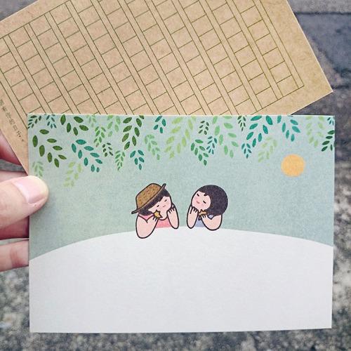 《KerKerland》謝謝,每一個有你的日子☉明信片