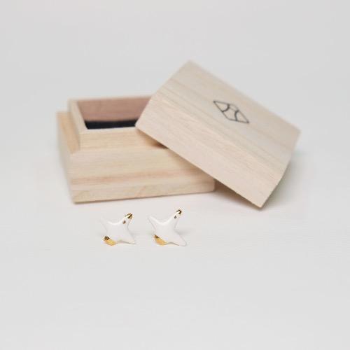 銘銘耳環 —  海鷗