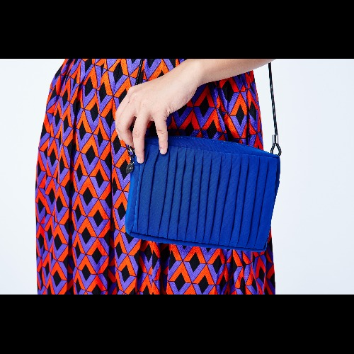 |南庭系列|小方包-寶藍色
