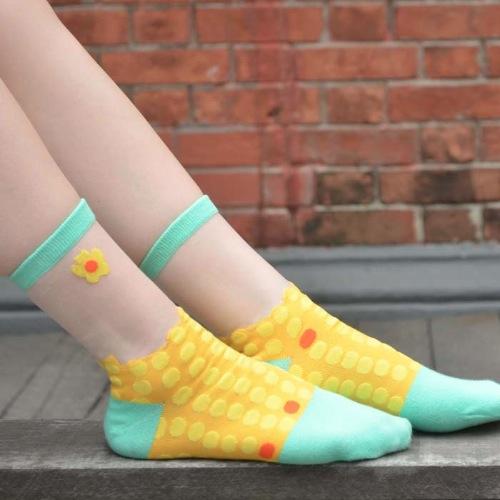 雞蛋仔薄紗襪子