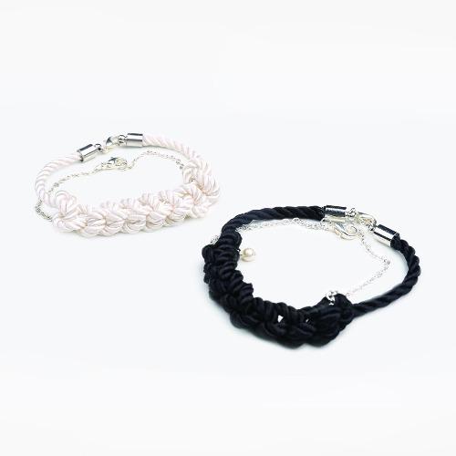 鉤織珍珠手鏈素材套裝 / Crochet Bracelets Set