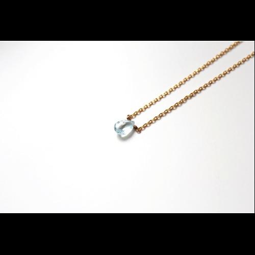 三月份誕生石- HOPE/海藍寶石Aquamarine/アクアマリン鎖骨項鍊