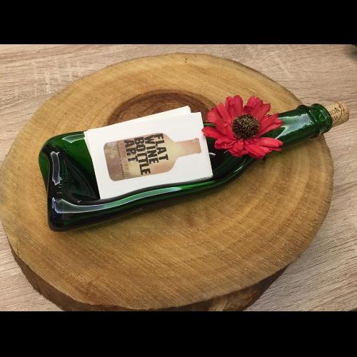 軟木塞酒瓶深盤 名片架