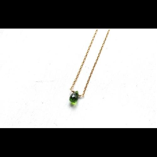 五月份誕生石- HEAL / 透輝石Diopside 鎖骨項鍊