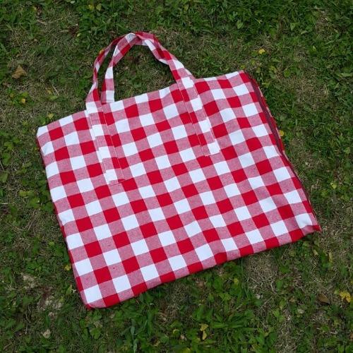 Picnic Red - 長形野餐地墊包包
