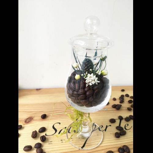 保鮮花咖啡杯(有蓋)