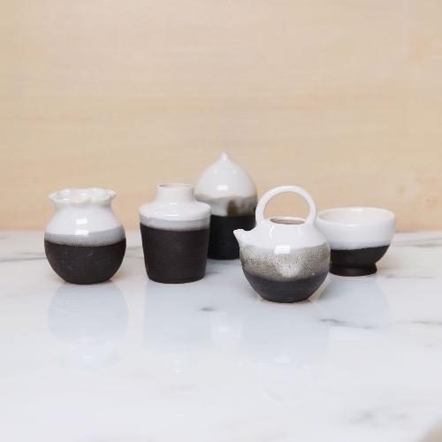 小樽 — 黑白套裝