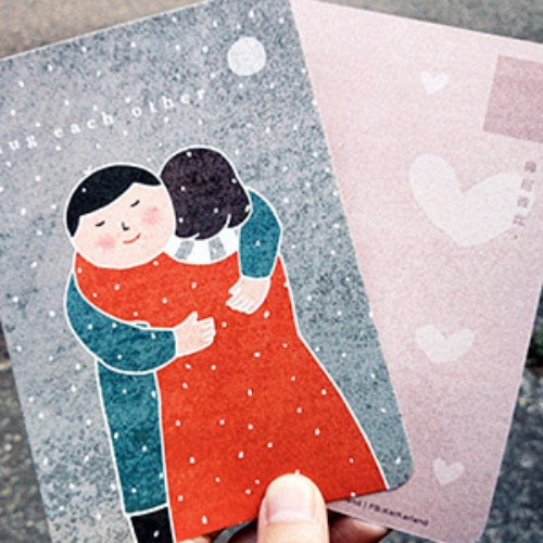 《KerKerland》擁抱彼此☉明信片