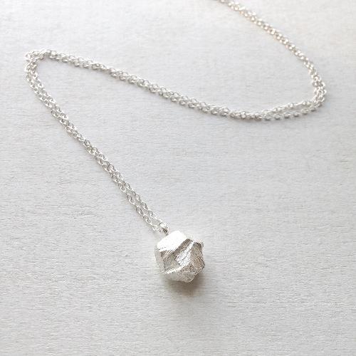 ▪ Stone Necklace ▪ 小石子項鍊 ▪ 風景系列 純銀項鍊 ▪
