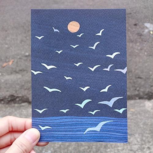 《KerKerland》展翅飛翔,直至,心之所向☉明信片