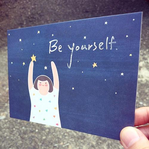 《KerKerland》Be Yourself☉明信片