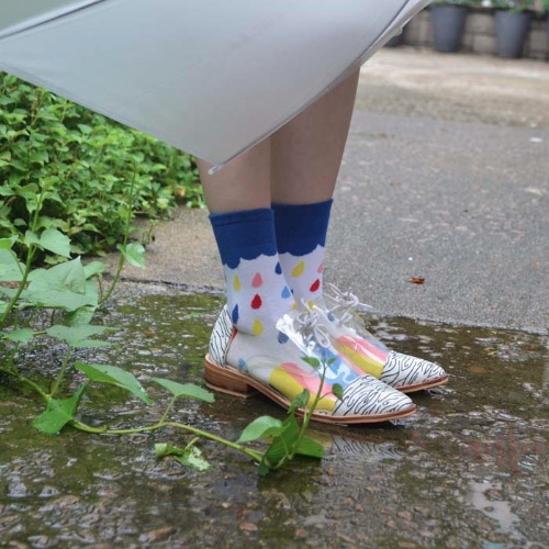 Colorful Rain Socks