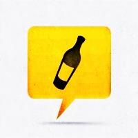 Flat Wine Bottle Art