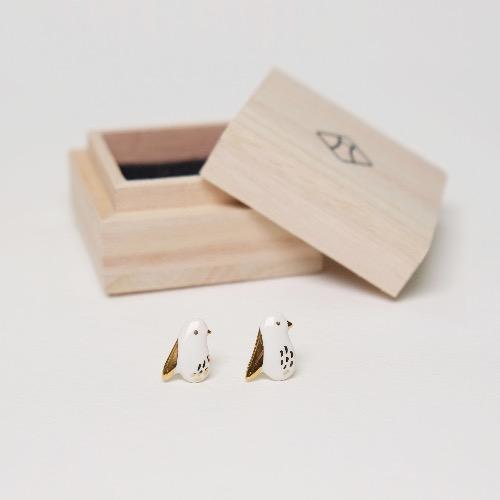 銘銘耳環 — 鳥