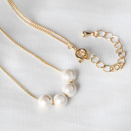 棉珍珠項鍊【Adore棉珍珠設計款項鍊】