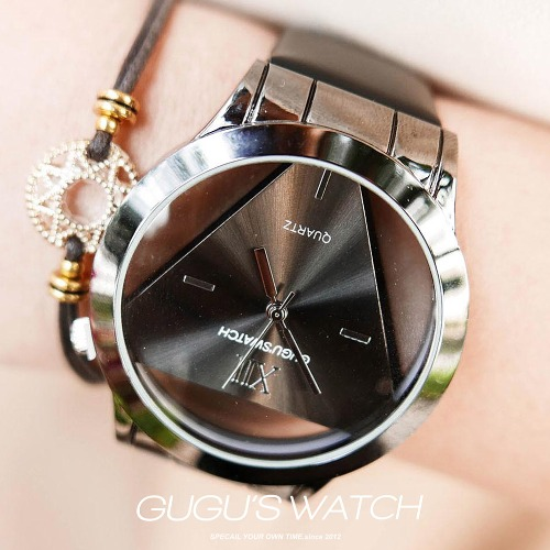 GUGU'S Watch 訂製品牌款  懸空三角90%黑巧克