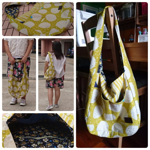 HB-2016-050 日本(Echino悅子古谷) 單肩手提包  Japan (Echino) Shoulder Handbag
