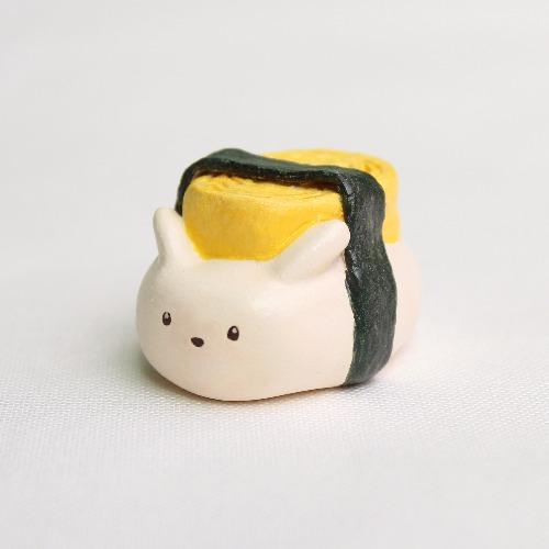煎蛋壽司兔/擺設