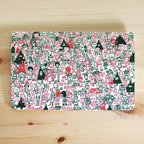燙金聖誕卡片 紅配綠聖誕節