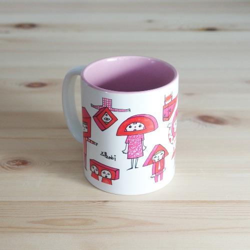 色彩系列馬克杯 紅糖果