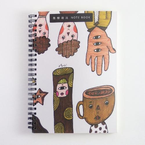 大筆記本 / 熱咖啡