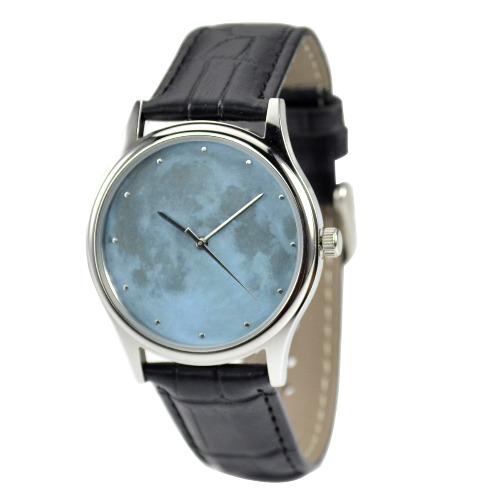 月球手錶 (淺藍) - 中性 - 全球免運