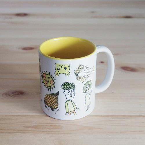 色彩系列馬克杯 黃太陽