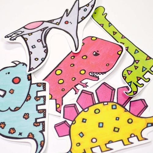 防水大貼紙 / 恐龍世界