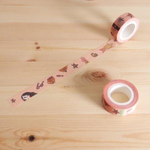 日本和紙膠帶 / 熱咖啡