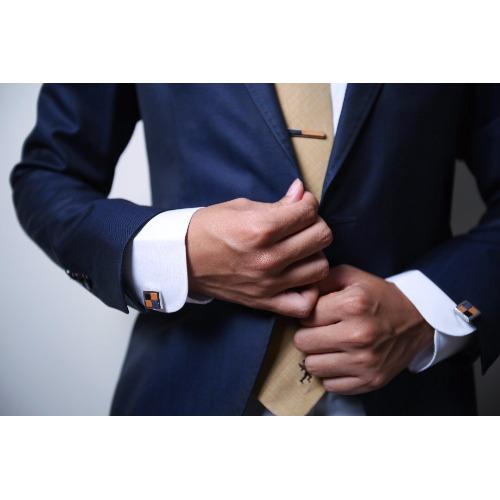 [禮服套裝] 男士 領帶夾 袖口鈕