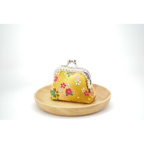 CaCa Crafts | 迷你和風口金包【金色年華】