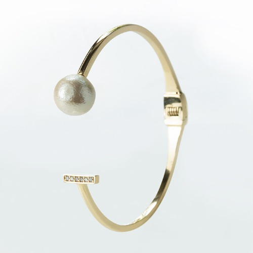 925純銀棉珍珠手環【密碼系列-Attraction棉珍珠手環】