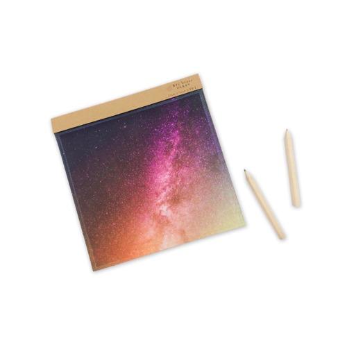 太空系列 炫彩星空Bright Star〔BYC印花萬用布〕 ll 擦拭布