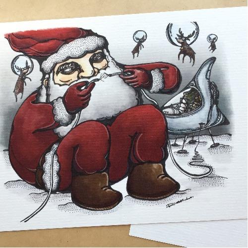 聖誕老人和小鹿們 前傳