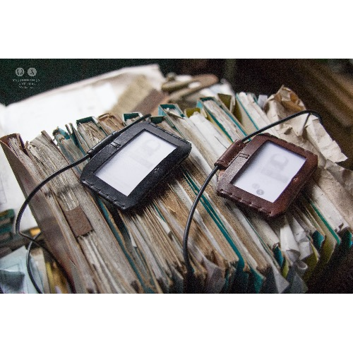 甲蟲仙生製革所|幾何.證件套