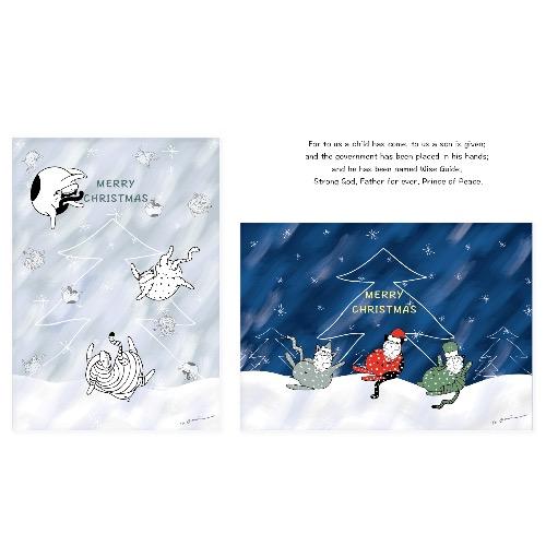 記憶中的christmas明信片(2入組)