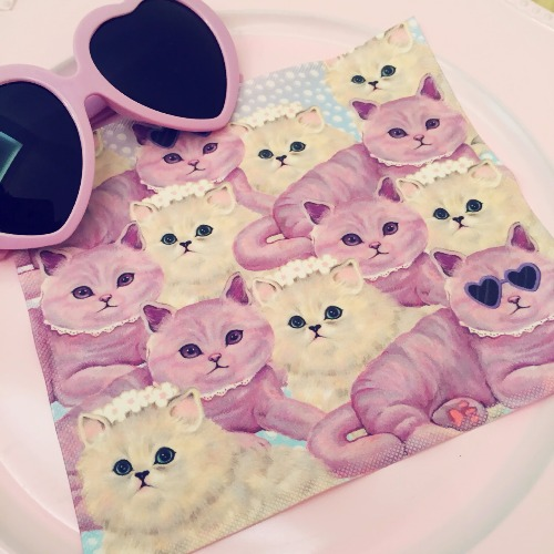 Pinky Ladies - OnlyTwo〔BYC印花萬用布〕