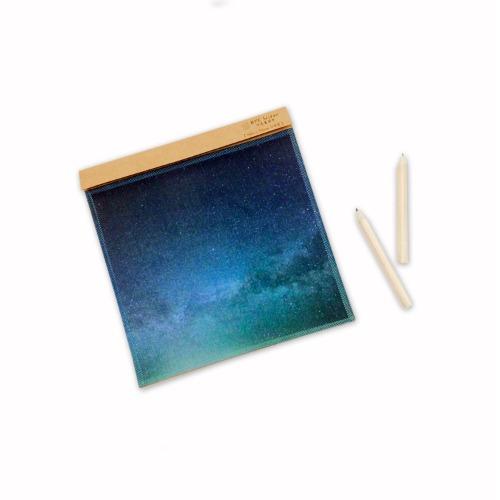 星空藍BlueGalaxy〔BYC印花萬用布〕 ll 擦拭布
