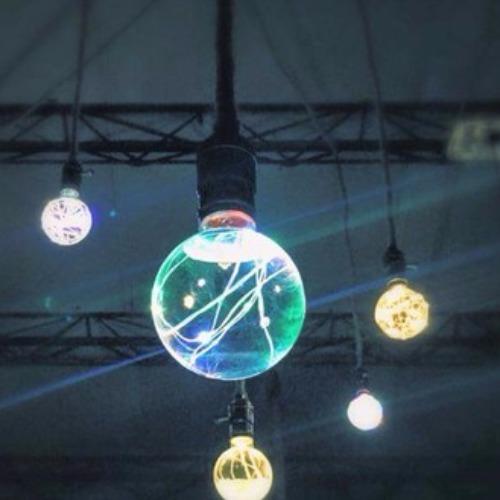 水火同源 液態燈泡 【G80圓形造型】首創唯一手工打造燈泡 ●E27燈頭系列 一般家用110V燈座可用