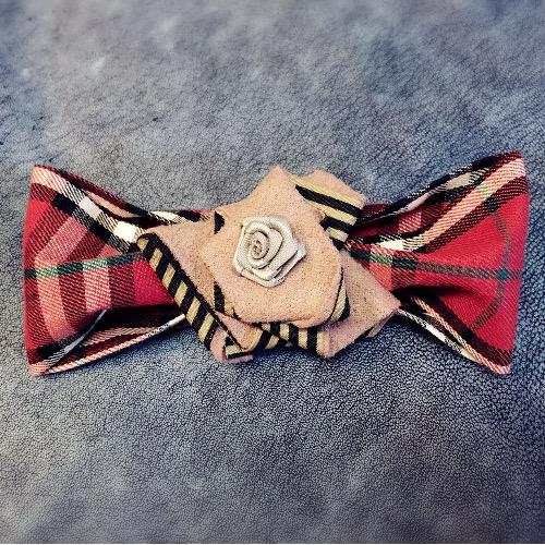 玫瑰花Bow Tie/BT#16234