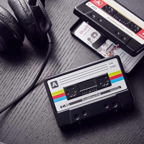 金屬烤漆錄音帶創意 名片盒/煙盒_彩色款
