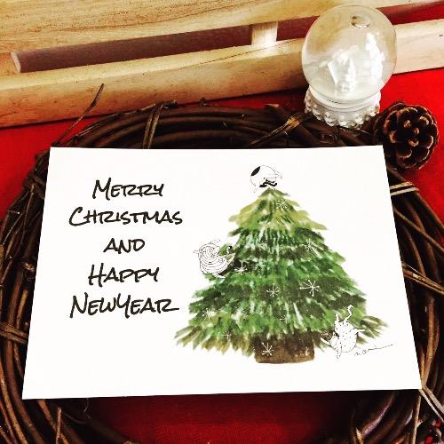 每日新的記憶聖誕樹 Christmas x New Year