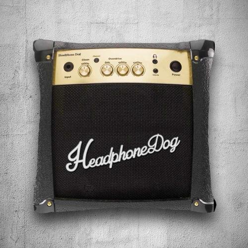 音樂設計款-吉他BASS音箱 抱枕/靠背/靠枕 (L) 45X45CM 耶誕 生日 情人 交換禮物