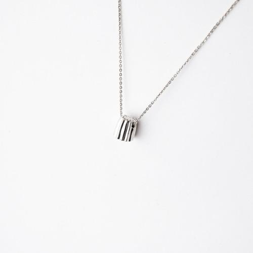 可麗露純銀項鍊
