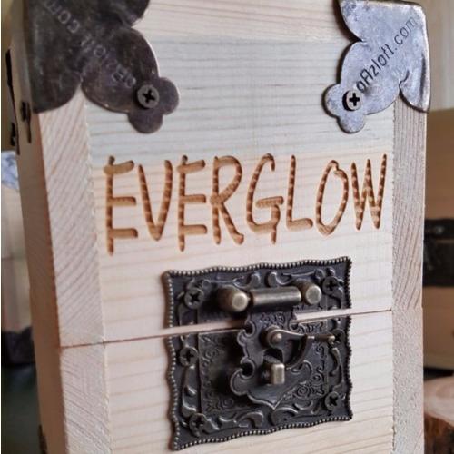 水火同源燈 加購 客製化 【木盒鐳射刻字】 ●不可單獨購買 需要搭配水火同源燈