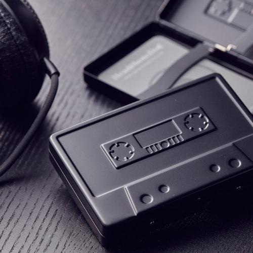 金屬音樂錄音帶造型 名片盒/煙盒_霧黑限定