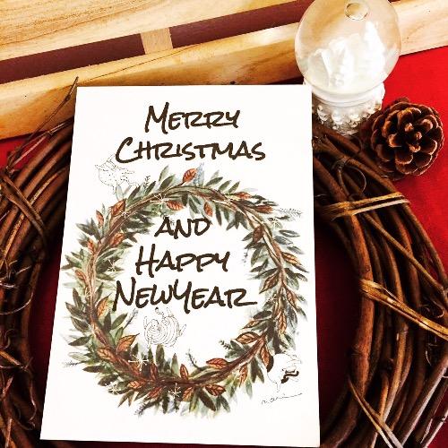 每日新的記憶花圈 Christmas x New Year