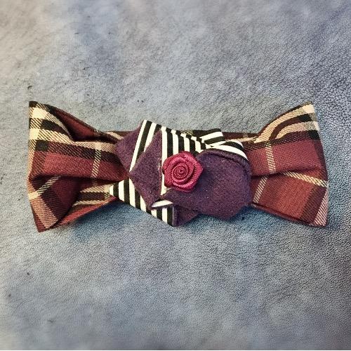 玫瑰花Bow Tie/BT#16230